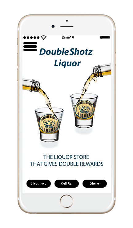 iPhone, Mobile App, DoubleShotz